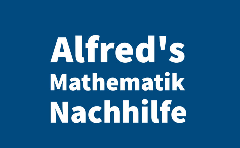 Mathematik Nachhilfe Wien